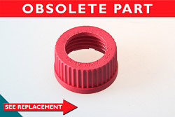 Bottle Cap Ring for Red Melamine GL45 Thread