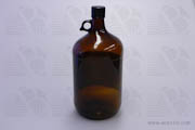 Bottle 4L Amber with 38mm Cap