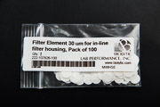 Filter Element 30 um for in-line filter housing - Pack of 100
