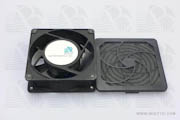 Fan Guard Filter Assembly with Media & Media Retainer