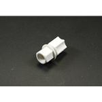 Coupler Polypro Jaco 1/4Tube to 1/8FNPT