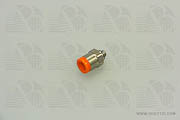 Adapter Quick Connect 1/4 OD Tube to 10-32 Male