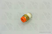 Adapter Quick Connect 1/4 OD Tube to 1/4 MNPT