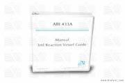 Manual Hard Copy 3ml Reaction Vessel Guide for the 433A
