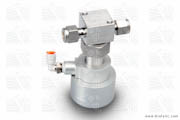 Valve Pneumatically Actuated Stainless Steel Waste Valve
