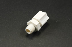 Coupler Jaco Polypro 1/4 Tube to 1/8 MNPT 10 Pack