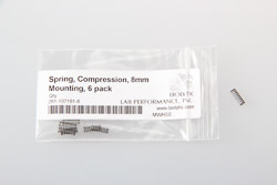 Spring, Compression, 302 SS, .375 L x .125 OD, 6 pack