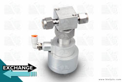 Valve Pneumatically Actuated SS Waste Valve on Exchange